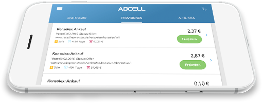 Mobile ADCELL App
