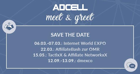 Meet & Greet mit ADCELL