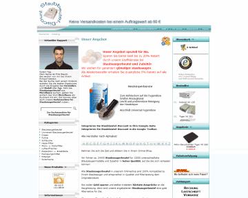 Staubbeutel-Discount Partnerprogramm bei ADCELL - Hier anmelden!