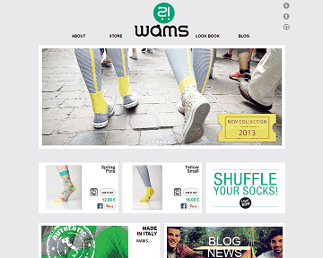 WAMS - Socks Made in Italy