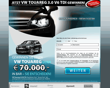 VW Touareg gewinnen!