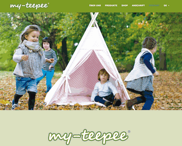 my-teepee Spielzelte