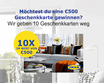 ikea 500 euro gewinnspiel partnerprogramm bei adcell hier anmelden. Black Bedroom Furniture Sets. Home Design Ideas