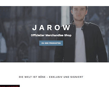 JAROW - Offizieller Merch