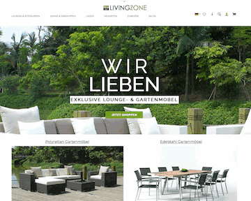 Living-Zone Gartenmöbel