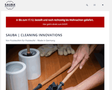 SAUBA Cleaning Innovation